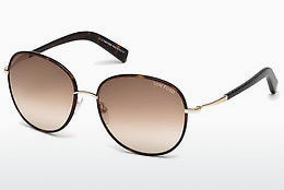 Ochelari oftalmologici Tom Ford Georgia (FT0498 52F) - Maro, Dark, Havana