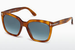 Ochelari oftalmologici Tom Ford Amarra (FT0502 53W) - Havana, Yellow, Blond, Brown