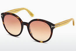 Ochelari oftalmologici Tom Ford Philippa (FT0503 52Z) - Maro, Dark, Havana