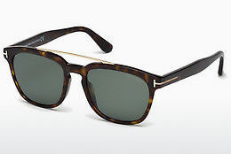 Ochelari oftalmologici Tom Ford Holt (FT0516 52R) - Maro, Dark, Havana