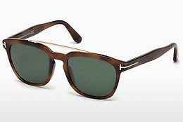 Ochelari oftalmologici Tom Ford Holt (FT0516 53N) - Havana, Yellow, Blond, Brown