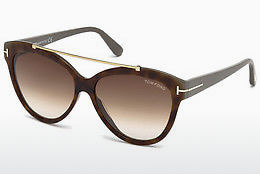 Ochelari oftalmologici Tom Ford Livia (FT0518 53F) - Havana, Yellow, Blond, Brown