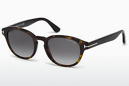 Ochelari oftalmologici Tom Ford Von Bulow (FT0521 52B) - Maro, Dark, Havana