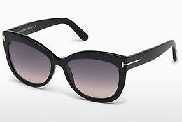 Ochelari oftalmologici Tom Ford Alistair (FT0524 01B) - Negru, Shiny