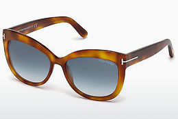 Ochelari oftalmologici Tom Ford Alistair (FT0524 53W) - Havana, Yellow, Blond, Brown