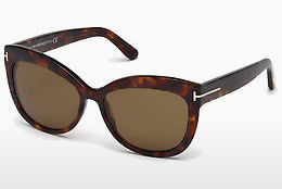 Ochelari oftalmologici Tom Ford Alistair (FT0524 54H) - Havana, Red