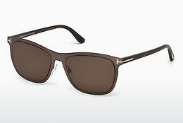 Ochelari oftalmologici Tom Ford Alasdhair (FT0526 48J) - Maro, Dark, Shiny