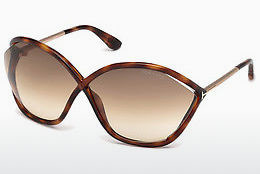 Ochelari oftalmologici Tom Ford Bella (FT0529 53F) - Havana, Yellow, Blond, Brown