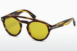 Ochelari oftalmologici Tom Ford Clint (FT0537 48E) - Maro, Dark, Shiny