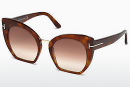 Ochelari oftalmologici Tom Ford Samantha (FT0553 53F) - Havana, Yellow, Blond, Brown