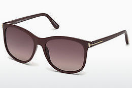 Ochelari oftalmologici Tom Ford FT0567 69T - Roşu burgund, Bordeaux, Shiny