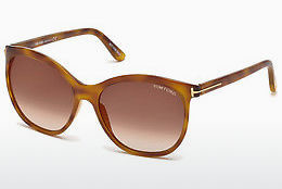 Ochelari oftalmologici Tom Ford FT0568 53G - Havana, Yellow, Blond, Brown