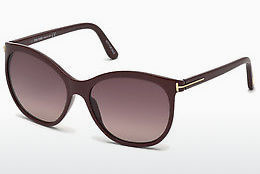 Ochelari oftalmologici Tom Ford FT0568 69T - Roşu burgund, Bordeaux, Shiny