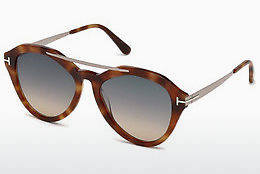 Ochelari oftalmologici Tom Ford FT0576 53B - Havana, Yellow, Blond, Brown