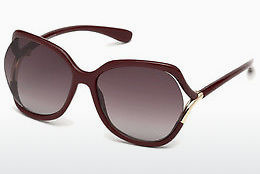 Ochelari oftalmologici Tom Ford FT0578 69T - Roşu burgund, Bordeaux, Shiny