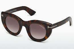 Ochelari oftalmologici Tom Ford FT0583 55T - Multicolor, Maro, Havana