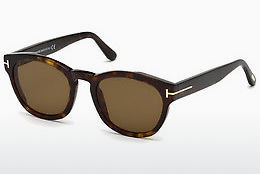 Ochelari oftalmologici Tom Ford FT0590 52J - Maro, Dark, Havana