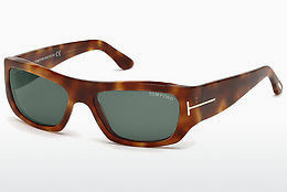 Ochelari oftalmologici Tom Ford FT0593 53N - Havana, Yellow, Blond, Brown