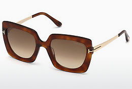 Ochelari oftalmologici Tom Ford FT0610 53F - Havana, Yellow, Blond, Brown
