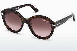 Ochelari oftalmologici Tom Ford FT0611 52T - Maro, Dark, Havana
