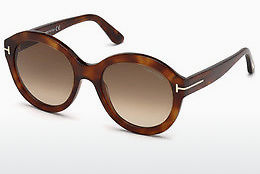 Ochelari oftalmologici Tom Ford FT0611 53F - Havana, Yellow, Blond, Brown