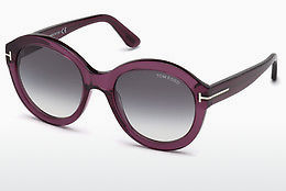 Ochelari oftalmologici Tom Ford FT0611 69B - Roşu burgund, Bordeaux, Shiny