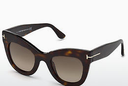 Ochelari oftalmologici Tom Ford FT0612 52K - Maro, Dark, Havana