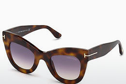 Ochelari oftalmologici Tom Ford FT0612 53Z - Havana, Yellow, Blond, Brown