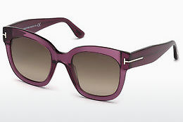 Ochelari oftalmologici Tom Ford FT0613 69K - Roşu burgund, Bordeaux, Shiny