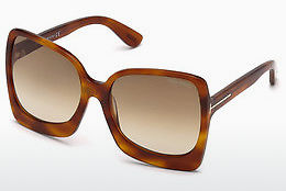Ochelari oftalmologici Tom Ford FT0618 53F - Havana, Yellow, Blond, Brown