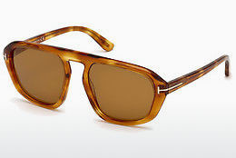 Ochelari oftalmologici Tom Ford FT0634 53E - Havana, Yellow, Blond, Brown
