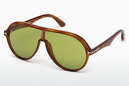 Ochelari oftalmologici Tom Ford FT0647 53N - Havana, Yellow, Blond, Brown