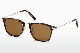 Ochelari oftalmologici Tom Ford FT0672 53E - Havana, Yellow, Blond, Brown