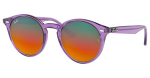 Ray-Ban RB2180 6280A8 BROWN MIRROR RED GRADIEN SILVESHINY VIOLET