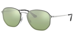 Ray-Ban RB3579N 003/30 DARK GREEN MIRROR SILVERSILVER