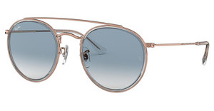 Ray-Ban RB3647N 90683F CLEAR GRADIENT BLUETRASPARENT