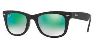 Ray-Ban RB4105 60694J MIRROR GRADIENT GREENMATTE BLACK