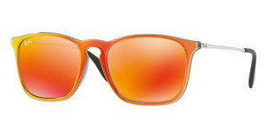 Ray-Ban RB4187 63206Q BROWN MIRROR ORANGEGREY MIRROR FLASH ORANGE
