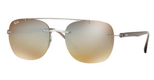 Ray-Ban RB4280 6290B8 GRADIENT BROWN MIRROR SILVERTRANSPARENT