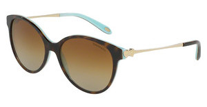 Tiffany TF4127 8134T3 POLAR BROWN GRADIENTHAVANA/BLUE