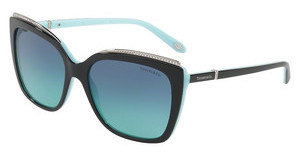 Tiffany TF4135B 80559S AZURE GRADIENT BLUEBLACK/BLUE