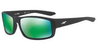 Arnette AN4224 01/1I POLAR DARK GREY MIRROR GREENMATTE BLACK