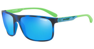 Arnette AN4244 246525 GREEN MIRROR LIGHT BLUEBLUE HAVANA