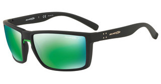 Arnette AN4253 01/1I POLAR DARK GREY MIRROR GREENBLACK RUBBER