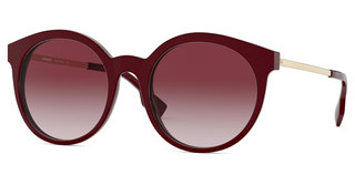 Burberry BE4296 34038D CLEAR GRADIENT PINKBORDEAUX