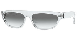 Burberry BE4301 30248E CLEAR GRADIENT LIGHT GREENTRANSPARENT