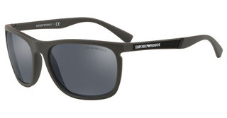 Emporio Armani EA4107 56406Q LIGHT GREY MIRROR BLACKMATTE MUD