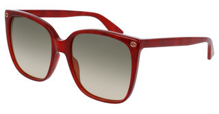 Gucci GG0022S 006 BROWNRED