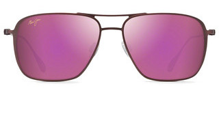 Maui Jim Beaches P541-07M MAUI SunriseMatte Brushed Burgundy