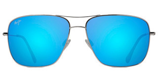 Maui Jim Cook Pines B774-17 Blue HawaiiSilver